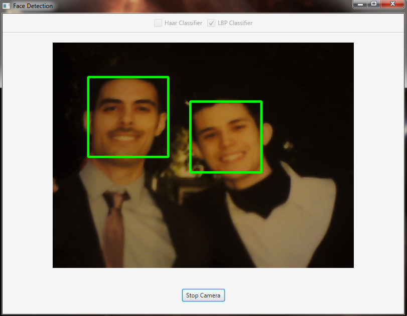 Face Detection and Tracking — OpenCV Java Tutorials 1 0